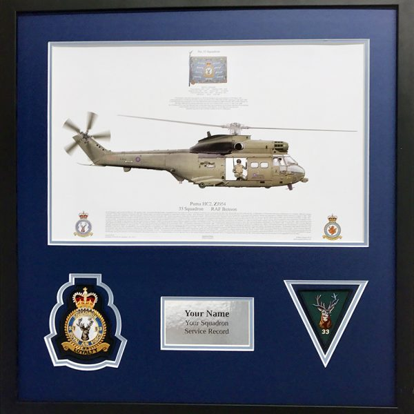 33 Squadron Puma HC2 RAF Benson Helicopter
