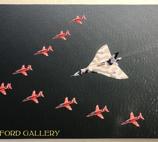 RAF Red Arrows Vulcan XH588